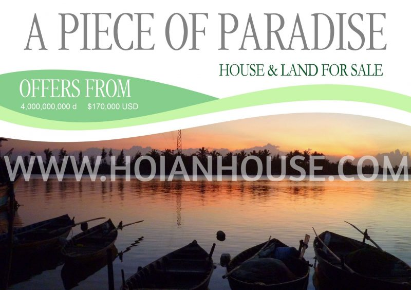 A PIECE OF PARADISE: HOUSE & LAND FOR SALE IN HOI AN
