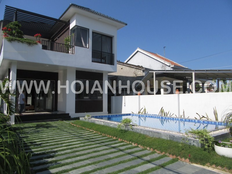 3 BEDROOM HOUSE FOR RENT IN HOI AN ( WITH SWIMMING POOL) (#HAH186)