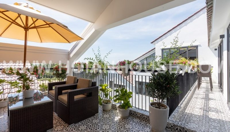 PENTHOUSE FOR RENT IN HOI AN (WITH SWIMMING POOL) (#HAA322) 15